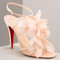 Christian Louboutin Petal pink sandals