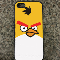 iPhone 5 Angry Birds Custom Hard iPhone Case Available in Black or White