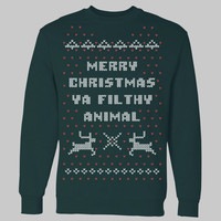 Home Alone Christmas Sweater Crewneck