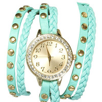 Braided Wrap Watch | Shop Watches at Wet Seal