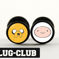 Finn and Jake Fake Plugs by Plug-Club