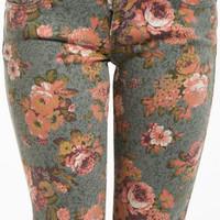 Aster Floral Jeans $44