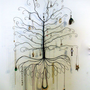 Jewelry Tree Display Super Colossal Wall Mount by ClaudinesLimited