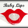 Lips Pacifier - Baby Lips