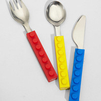 Fred & Friends Snack & Stack Utensil Set