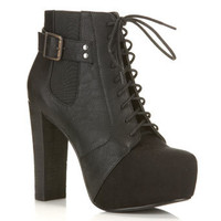 Bexs Lace Up Boot - View All  - New In