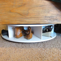 Lazy ShoeZen Under Bed shoes rack storage
