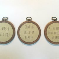 Peter Pan Quote -Set of Three - Wall Art - J.M. Barrie