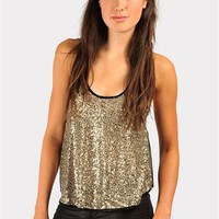 Silver Coin Tank - Silver at Necessary Clothing