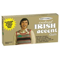 Instant Irish Accent Gum - Whimsical &amp; Unique Gift Ideas for the Coolest Gift Givers