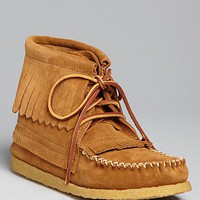 Eastland 1955 Edition Fringe Moc Booties - Aztec 1955 | Bloomingdale's