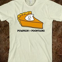 PUMPKIN VS POONTANG PIE
