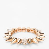 Solar Spike Bracelet