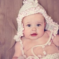 Pixie Crochet Baby Hat on Luulla