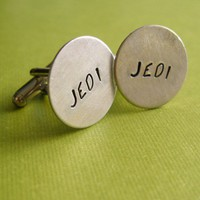 Jedi Cuff Links | Spiffing Jewelry