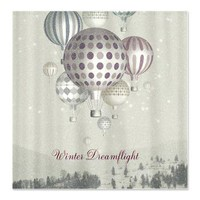 Winter Dreamflight - Shower Curtain> ShowerCurtainsAvenue by Belle13