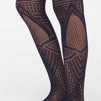 Openwork Petal Tight