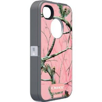 Amazon.com: Otterbox Defender Realtree Series for iPhone 4/4S - 1 Pack - Case - Retail Packaging - Pink/APC Camo Pattern: Cell Phones & Accessories