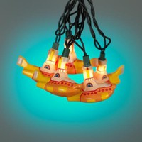 Beatles Yellow Submarine 10-Light Party String Lights | LampsPlus.com