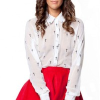 Young Hearts shirt in white  | Show Pony Fashion online shopping