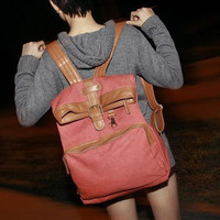 Leather backpack by chenglong123