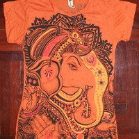 Women&#x27;s T Shirt Ganesha Hindu OM Si.. on Luulla