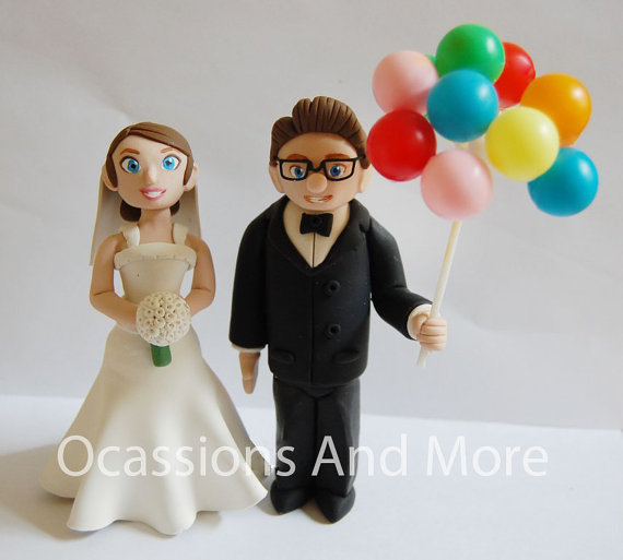 UP Carl And Ellie Balloons Wedding Cake From OccasionsAndMore On