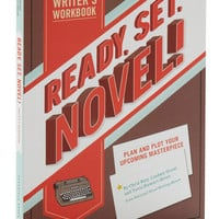 Ready, Set, Novel! Writer's Workbook | Mod Retro Vintage Books | ModCloth.com