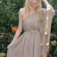 Brown Sexy Dress - Ryah Dress | UsTrendy