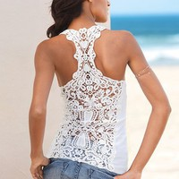 Crochet Racerback Tank - Victoria&#x27;s Secret