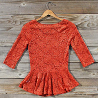 Stable & Steed Blouse, Sweet Bohemian Clothing