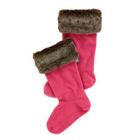 Joules Rebell Fur Wellie Socks | Dover Saddlery