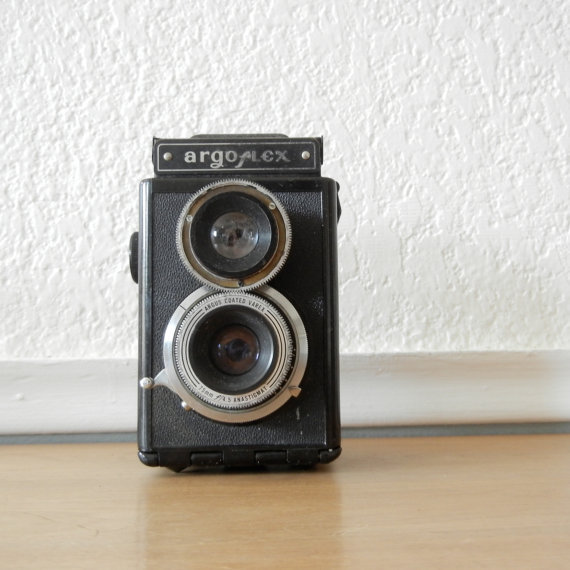 Argus Argoflex E Camera Antique 1940s TRL by nellsvintagehouse