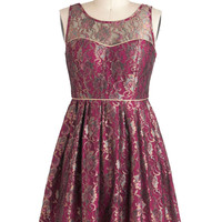 Days of Vine and Roses Dress | Mod Retro Vintage Dresses | ModCloth.com