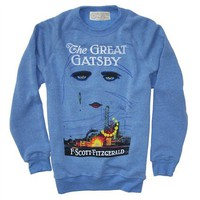 The Great Gatsby book cover fleece