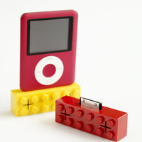 Building Block Mini Speaker ? Cox &amp; Cox, the difference between house and home.