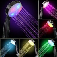 Amazon.com: 7 COLOR LED SHOWER HEAD ROMANTIC LIGHTS WATER HOME BATH - Xmas day: Home & Kitchen