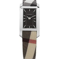 Burberry Nova Check Silver Dial Watch, 28 X 26mm - Jewelry &amp; Accessories - Bloomingdales.com