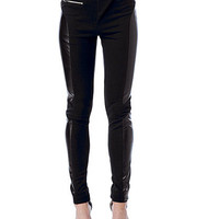 Faux Leather Moto Stretch Pant | Sexy Clothes Womens Sexy Dresses Sexy Clubwear Sexy Swimwear | Flirt Catalog