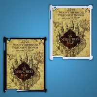 The marauder Map Custom iPad 3 Case Cover