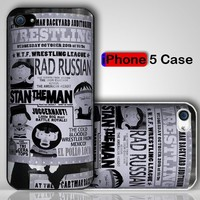 South Park WTF Poster Custom iPhone 5 Case Cover