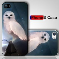 Snowy Bird Day After End Custom iPhone 5 Case Cover