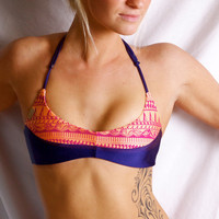 "The ""Julie"" REVERSIBLE BIKINI Halter TOP"