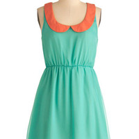 Collar Palette Dress | Mod Retro Vintage Dresses | ModCloth.com