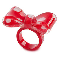 Disney Bow Minnie Mouse Ring | Disney Store