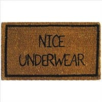 Amazon.com: Nice Underwear Coir Door Mat: Pet Supplies