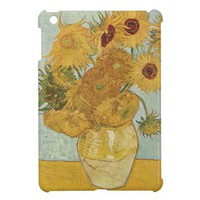 Vincent van Gogh Sunflowers iPad Mini Case from Zazzle.com