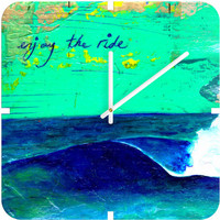 DENY Designs Home Accessories | Sophia Buddenhagen Enjoy The Ride Custom Clock