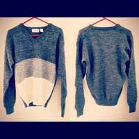 OMBRE OVERSIZED SWEATER Vintage Hipster Limited Edition