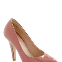 Profit and Gloss Heel in Pink | Mod Retro Vintage Heels | ModCloth.com